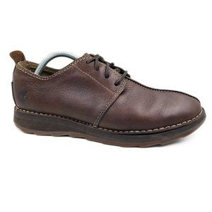 Timberland Brown Leather Comfort Oxford Shoes